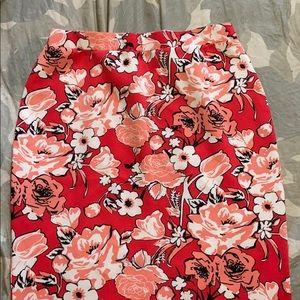 Liz Claiborne Coral pencil skirt